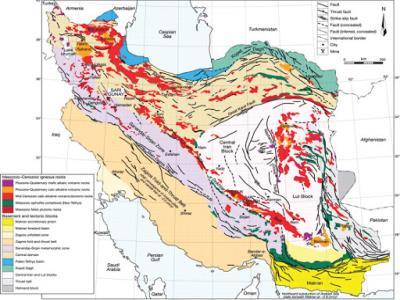 تهیه ۵۲ عنوان نقشه و گزارش زمین شناسی طی یک سال اخیر